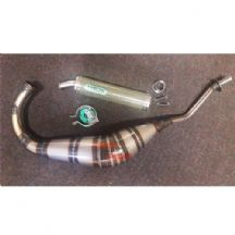 Cagiva Planet 125 1999 - 2007 Arrow Street Exhaust System - Carbon Kevlar